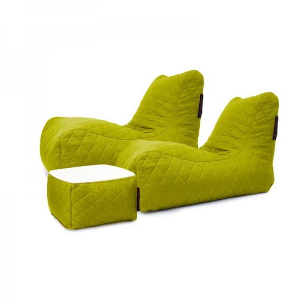 Bean bag Set Restfull Nordic Quilted Material